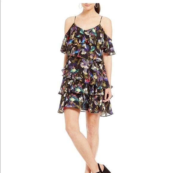 01fe69efcce Gianni Bini Cesa tiered dress